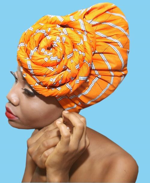 Nwayuma Yellow Headwrap