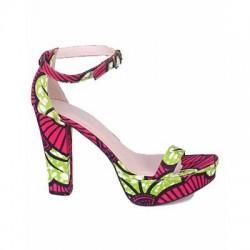 Sample Ankara Sandal