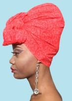 Red Siren Headwrap